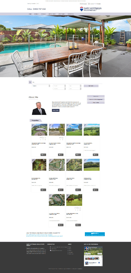 Agent Micro Sites Example 3