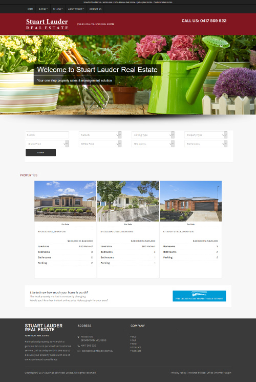 Agent Micro Sites Example 1